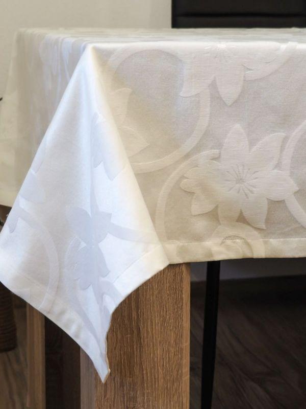 Față de masă jacquard - detaliu